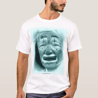 Cyan Clown  T-Shirt