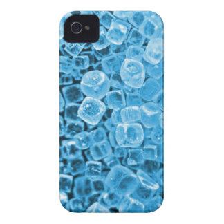 Cyan Crystals iPhone 4 Case