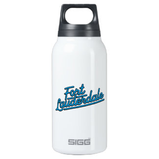 cyan Fort Lauderdale Insulated Water Bottle