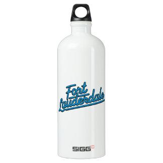cyan Fort Lauderdale SIGG Traveller 1.0L Water Bottle