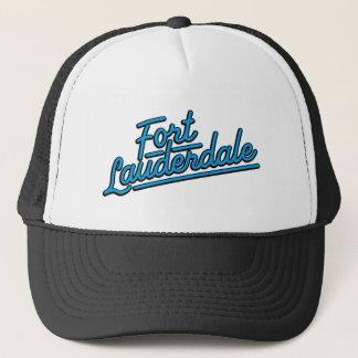 cyan Fort Lauderdale Trucker Hat