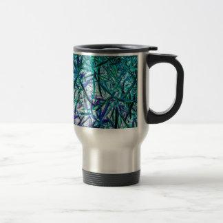 Cyan Grass Coffee Mug