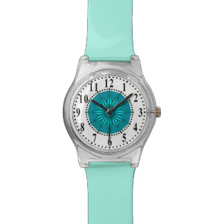 Cyan Guiding Star Watch