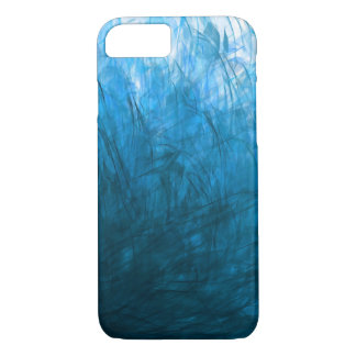 Cyan Texture1 - Apple iPhone Case