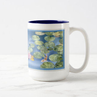 Cyanicity Koi Pond Coffee Mug