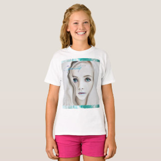 Cyanicity Rose girls tee