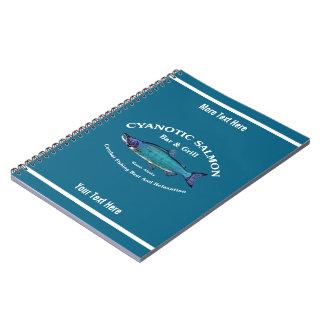 Cyanotic Salmon Bar & Grill Notebooks