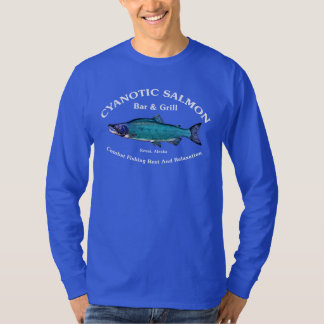 Cyanotic Salmon Bar & Grill T-Shirt