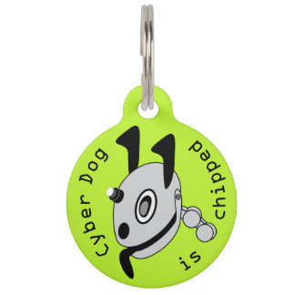 Cyber dog pet ID tag