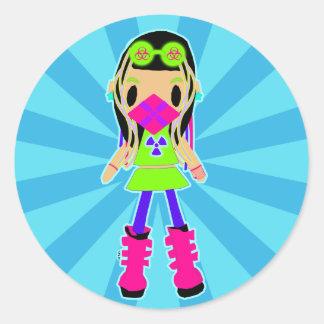 Cyber Girl X Stickers