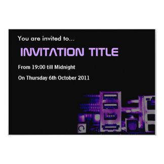 Cyber Invitation Card