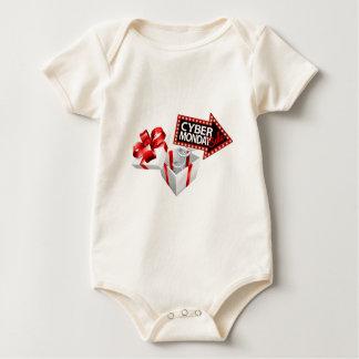 Cyber Monday Black Friday Sale Sign Baby Bodysuit