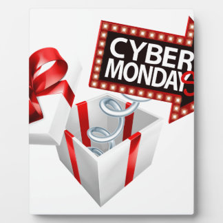 Cyber Monday Black Friday Sale Sign Plaque