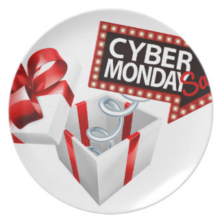 Cyber Monday Black Friday Sale Sign Plate
