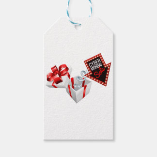 Cyber Monday Box Spring Sale Sign Gift Tags