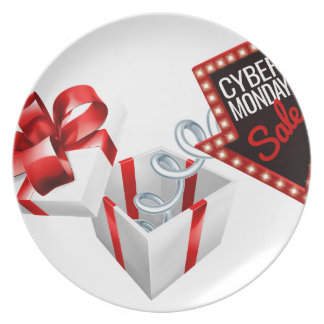 Cyber Monday Box Spring Sale Sign Plate