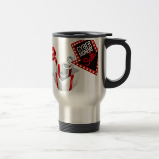 Cyber Monday Box Spring Sale Sign Travel Mug