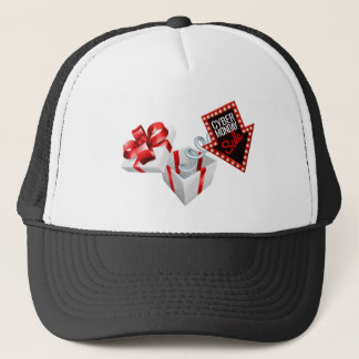 Cyber Monday Box Spring Sale Sign Trucker Hat