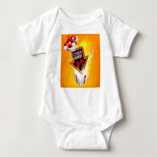 Cyber Monday Sale Exciting Gift Sign Baby Bodysuit