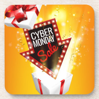 Cyber Monday Sale Exciting Gift Sign Coaster