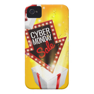Cyber Monday Sale Exciting Gift Sign iPhone 4 Case-Mate Cases