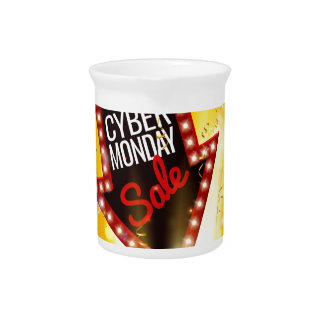 Cyber Monday Sale Exciting Gift Sign Pitcher