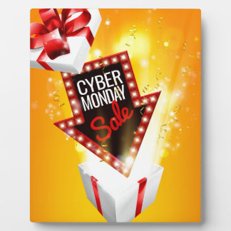 Cyber Monday Sale Exciting Gift Sign Plaque