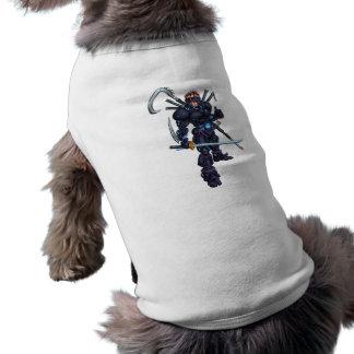 Cyber Ninja Sleeveless Dog Shirt