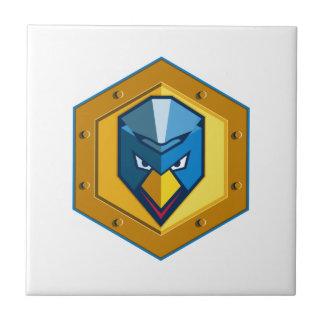 Cyber Punk Chicken Hexagon Icon Tile