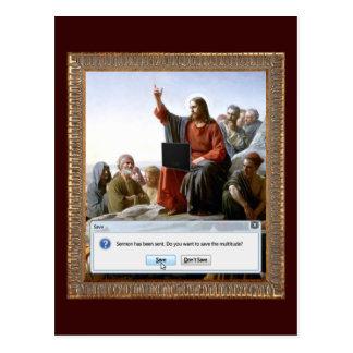 Cyber Sermon Postcard