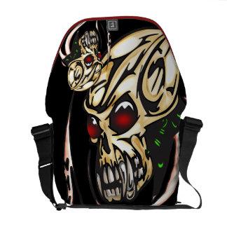 Cyber Skull Octopus Commuter Bags