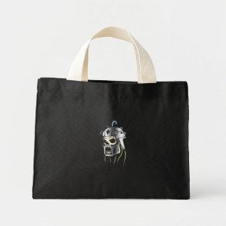 Cyber Skull Mini Tote Bag