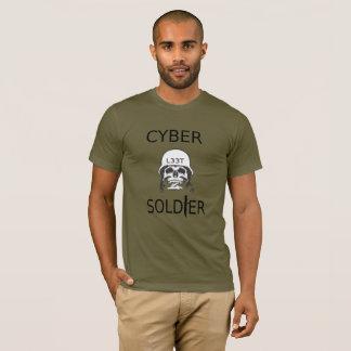 Cyber Soldier Hacker T-Shirt