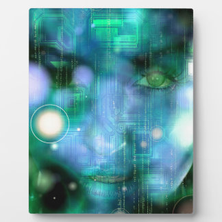 CyberGirl Plaque