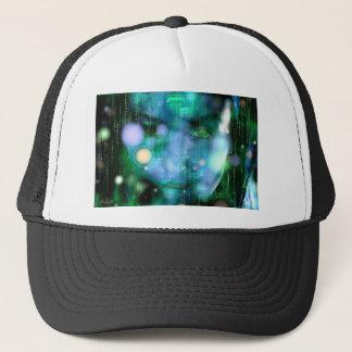CyberGirl Trucker Hat
