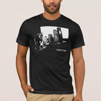 CYBERKITTENS: Jacked In (black) T-Shirt