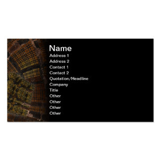 Cybernetix 3D Abstract Digital Art Business Card Template