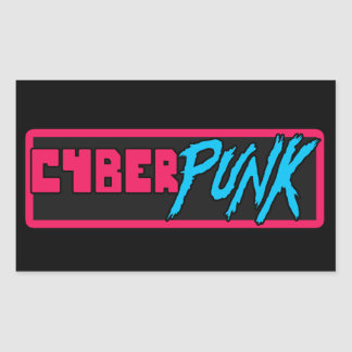 'Cyberpunk' - Glossy Sticker