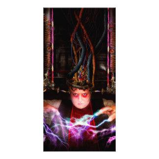 Cyberpunk - Mad skills Custom Photo Card