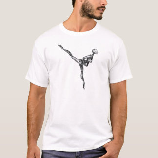 Cyborg Ballet in Arabesque T-Shirt
