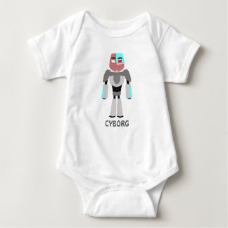 Cyborg(TeenTitans) Baby Bodysuit