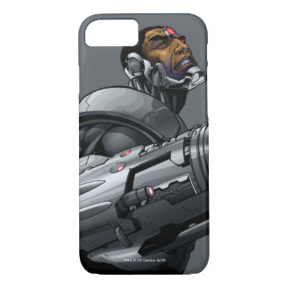 Cyborg & Weapon Bust 2 iPhone 8/7 Case