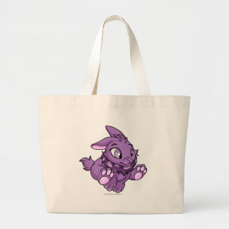 Cybunny Purple Jumbo Tote Bag