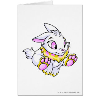 Cybunny Yellow Greeting Card