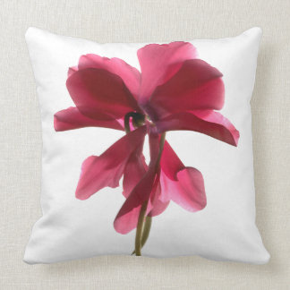 "Cyclamen Dance Polyester Throw Pillow 20"" x 20"""