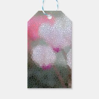 Cyclamen Flowers Mosaic
