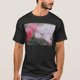 Cyclamen Flowers Mosaic T-Shirt