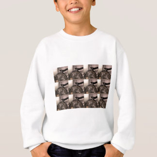 Cycle Bicycle art graphic deco template add text Sweatshirt