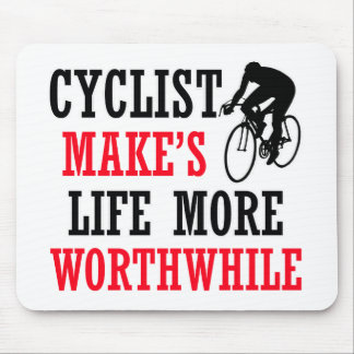 cycle design mouse pad