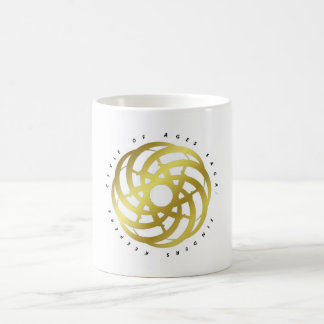 Cycle of Ages Saga: Container (Gold-colored Logo) Coffee Mug